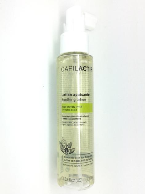 Lotion après-shampooing cuir chevelu irrité